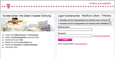 telekom kundencenter mobilfunk handytarife und mobiles internet. Black Bedroom Furniture Sets. Home Design Ideas